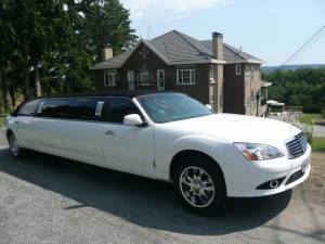 Stretch Mercedes S550 Look Limo by Time Limo