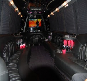 Vancouver Limo Party Bus Rental by Time Limo