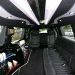 Interior of Stretch Navigator by Time Limo