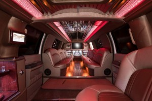 22 Passenger Stretch SUV Vancouver Interior