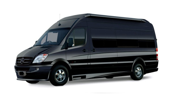 Mercedes sprinter van rental to YVR