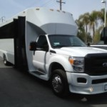 Surrey to Vancouver Party bus rental -  best party bus rates to Vancouver BC