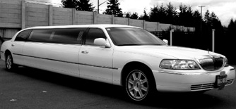 STRETCH LINCOLN TOWN CAR