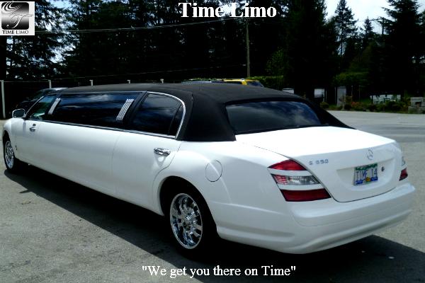 Mercedes S550 Stretch Limousine Replica Time Limousine
